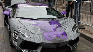 Preview wallpaper lamborghini, aventador, supercar, gumball 3000