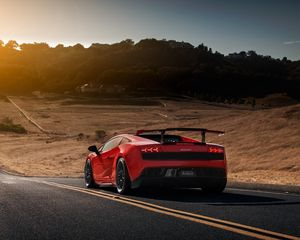 Preview wallpaper lamborghini, gallardo, lp570-4, super trofeo, supercar