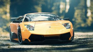 Preview wallpaper lamborghini, murcielago, lp670-4, car, front view