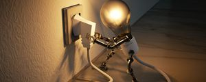 Preview wallpaper lamp, outlet, idea, electricity