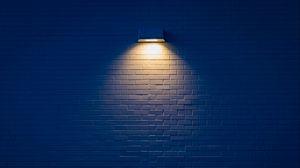 Preview wallpaper lamp, wall, brick, light, lighting