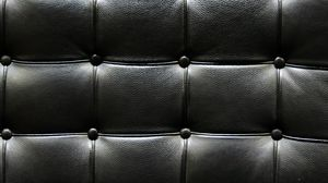 Preview wallpaper leather, black, spots