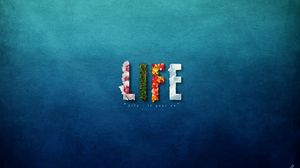 Preview wallpaper life, bright, colors, flowers, sweet
