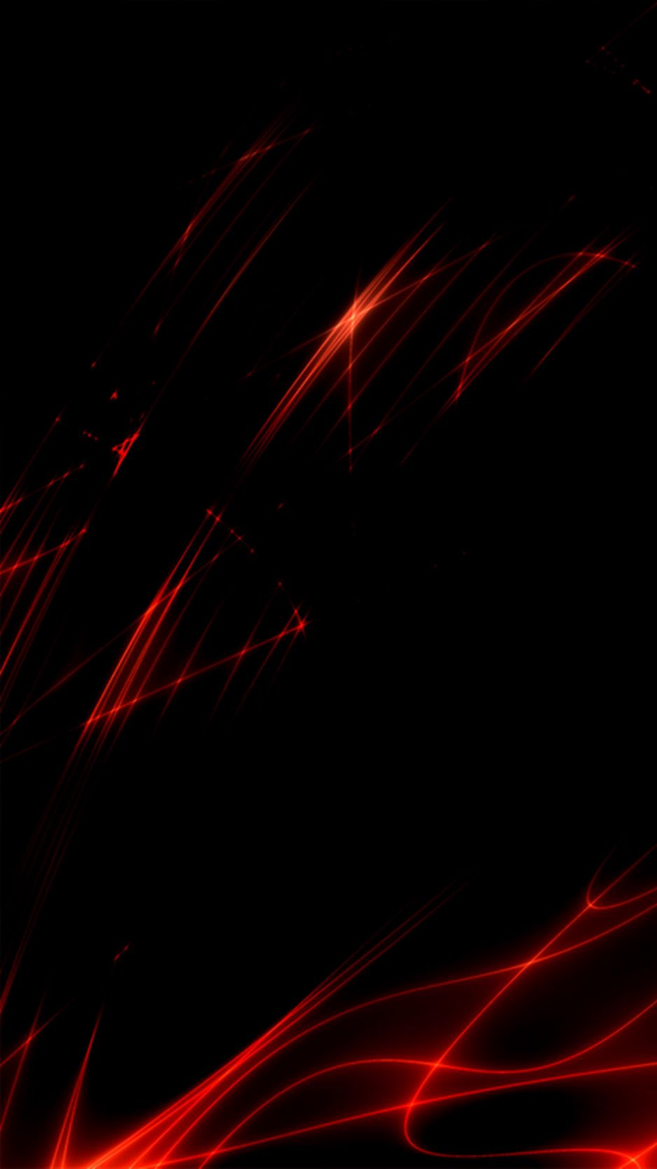 Download Wallpaper 938x1668 Lines Glitter Red Black