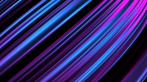 Preview wallpaper lines, obliquely, stripes, glow, purple