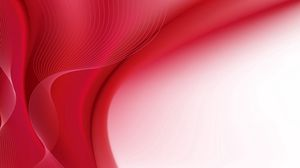 Preview wallpaper lines, red, background, wave