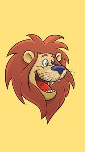 Preview wallpaper lion, cartoon, art