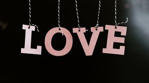 Preview wallpaper love, word, letters