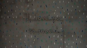 Preview wallpaper love, words, phrase, seat, wall