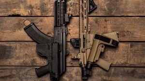 Preview wallpaper machine guns, guns, weapons, army