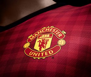 Preview wallpaper manchester united, logo, new set, 2012, 2013, english premier league