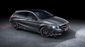 Preview wallpaper mercedes, amg, cla 45, 2015, x117