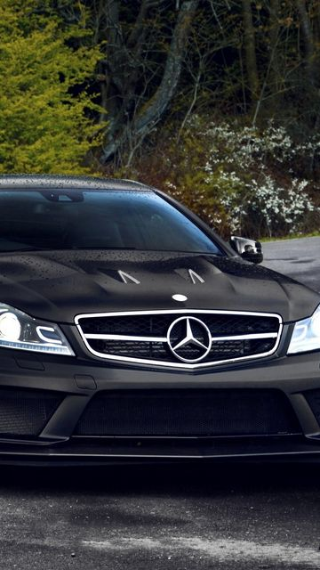 360x640 Wallpaper mercedes, auto, black, beautiful, expensive