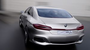 Preview wallpaper mercedes benz, f800, concept, rear view