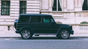 Preview wallpaper mercedes benz, g class, g wagen