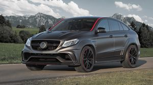Preview wallpaper mercedes-benz, mansory, c292, gle-class