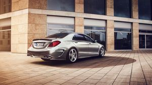 Preview wallpaper mercedes-benz, s-klasse, w222, lorinser