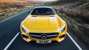 Preview wallpaper mercedes, c190, amg, gt s