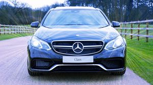 Preview wallpaper mercedes, mercedes-benz, s-class, front view