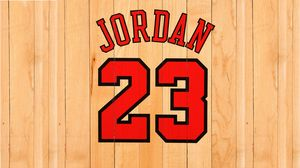 Preview wallpaper michael jordan, chicago bulls, number, name, nba, basketball, boards