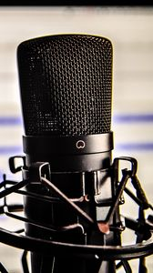 Preview wallpaper microphone, studio, recording