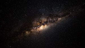 Preview wallpaper milky way, starry sky, galaxy