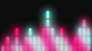 Preview wallpaper minimalism, equalizer, bright, light