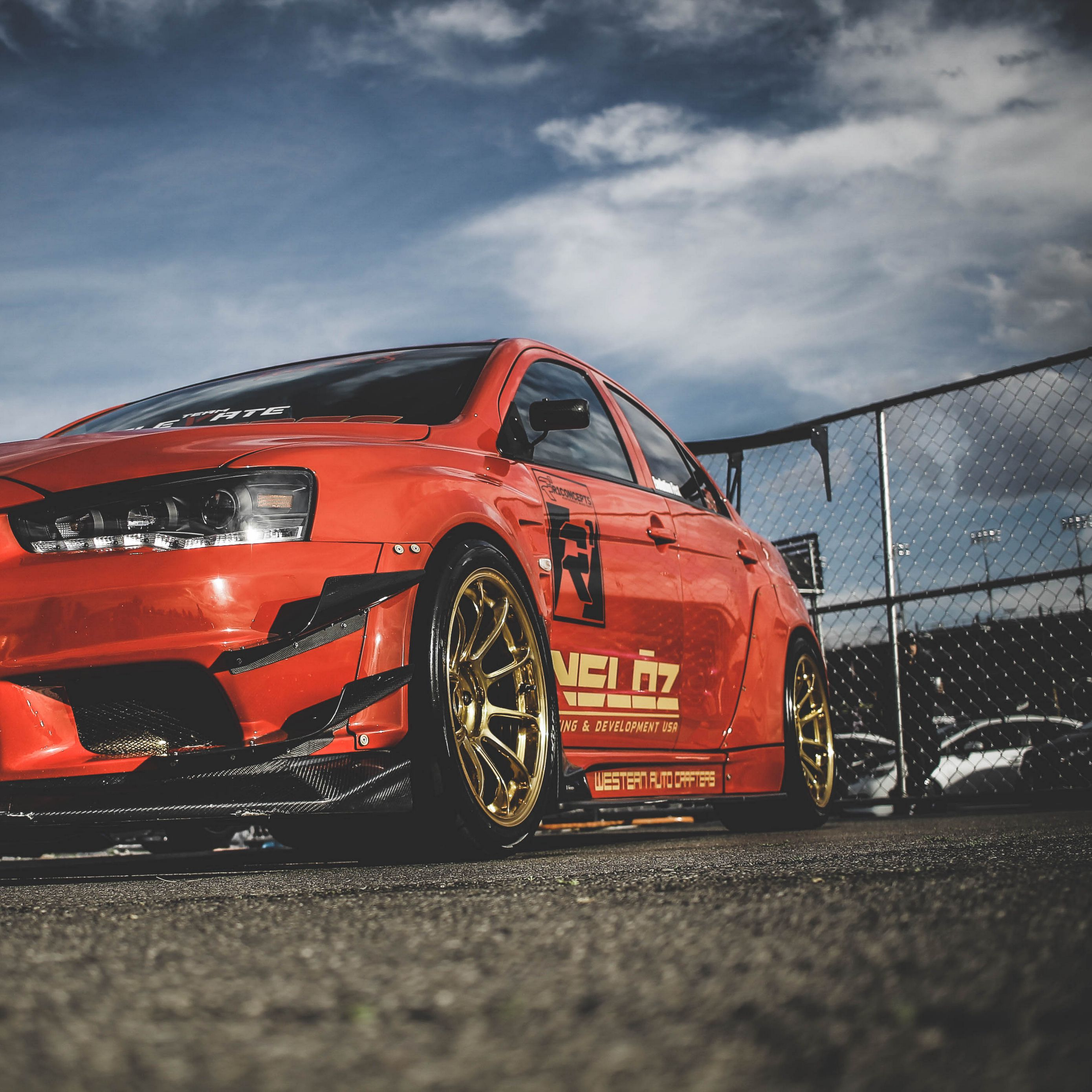 Mitsubishi Background: Download Wallpaper 2780x2780 Mitsubishi Lancer Evolution X