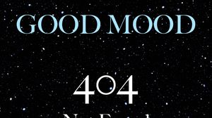 Preview wallpaper mood, 404, error, phrase, inscription, starry sky