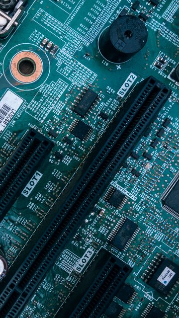 360x640 Wallpaper motherboard, chipset, chip