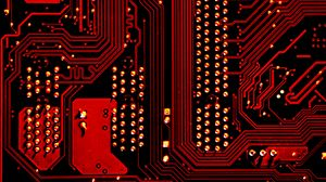 Preview wallpaper motherboard, detail, computer, circuit