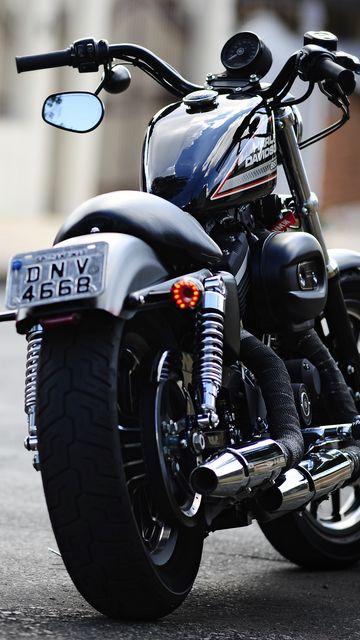 360x640 Wallpaper moto, harley, harley davidson 883