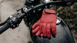 Preview wallpaper motorcycle, bike, gloves