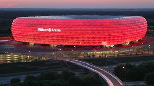 Preview wallpaper munich, germany, allianz arena, stadium