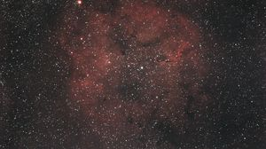 Preview wallpaper nebula, universe, stars, red, space