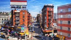 Preview wallpaper new york, usa, buildings, traffic, people, cars, vanity, hdr