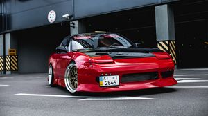 Preview wallpaper nissan 200sx, nissan, sports car, tuning