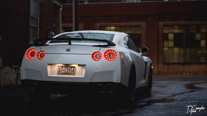 Preview wallpaper nissan, gtr, supercar, turbo