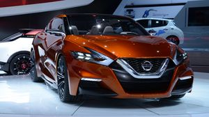 Preview wallpaper nissan, sport, sedan, concept, detroit, 2014