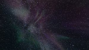 Preview wallpaper northern lights, stars, space, astronomy