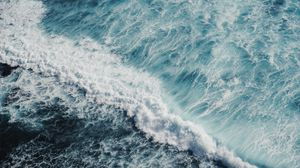 Preview wallpaper ocean, surf, foam, sea, water