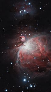 Preview wallpaper orion nebula, nebula, galaxy, space, stars