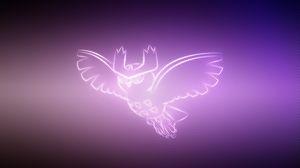 Preview wallpaper owl, pokemon, noctowl