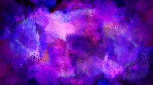 Preview Wallpaper Paint Stains Purple
