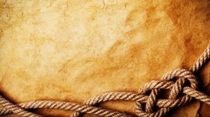 Preview wallpaper paper, rope, old
