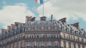 Preview wallpaper paris, france, hotel, hotel du louvre