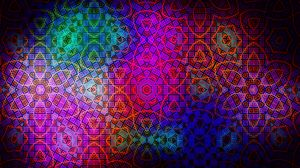 Preview wallpaper pattern, color, colorful, dark