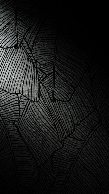360x640 Wallpaper pattern, stripes, texture, black