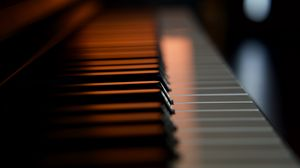 Preview wallpaper piano, keys, macro, musical instrument