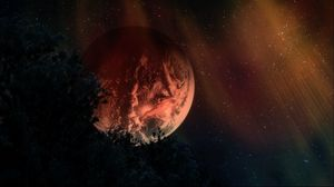 Preview wallpaper planets, stars, sky, night, dark, art, 3d